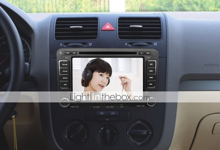 7 Inch Car DVD Player For Skoda Superb/Golf5/Golf6 with GPS DVB-T