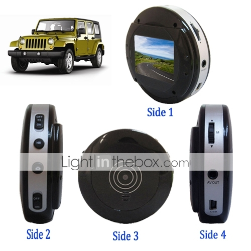 Car Digital Video Recorder with 2.0