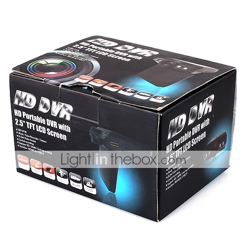 Car DVR + Car Camera With LCD Display + HDMI + Night Vision
