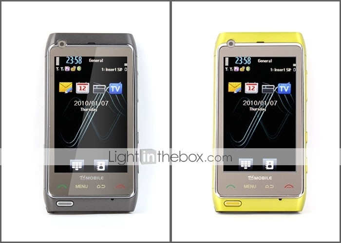 Dual SIM 3.6 Inch Touch Screen Cell Phone (Quadband TV FM)