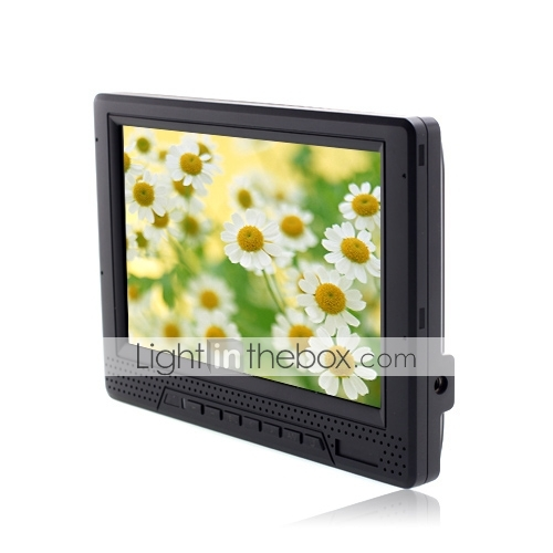 7 pollici widescreen sulla fotocamera dslr monitor lcd hd (1080p, HDMI in out +)
