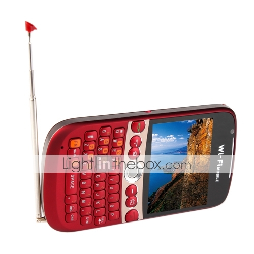 QWERTY keyboard Dual SIM Cellphone (WIFI, FM, TV, MP3/MP4)