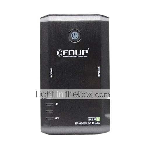 EDUP rede sem fio-wireless 150Mbps Router 3G protable com bateria