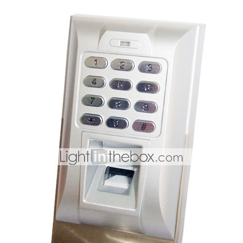Biometric Fingerprint and Password Door Lock with Deadbolt