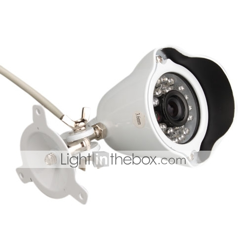 IR Waterproof Bullet Camera with 1/3 Inch Sony CCD (420TVL)
