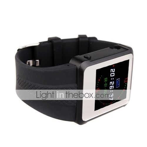 1,5 pouces de sport Montre MP4 4Go (noir)