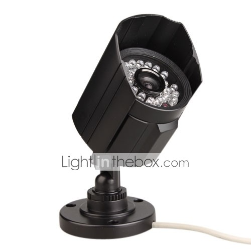 IR Bullet Camera with 1/3 Inch Sony CCD (420TVL, Waterproof)