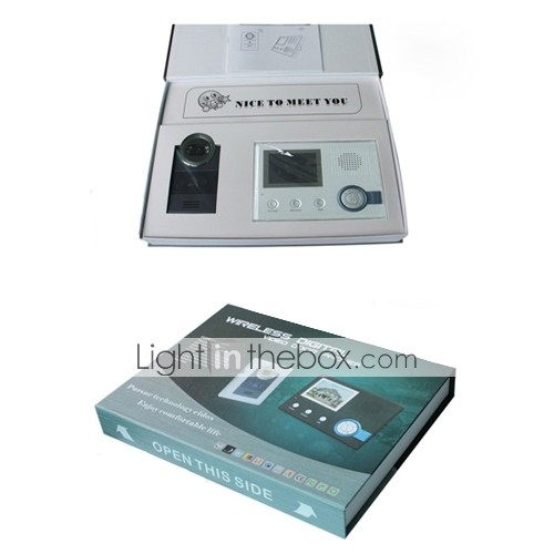 Wireless Waterproof Video Door Phone, Recording Picture