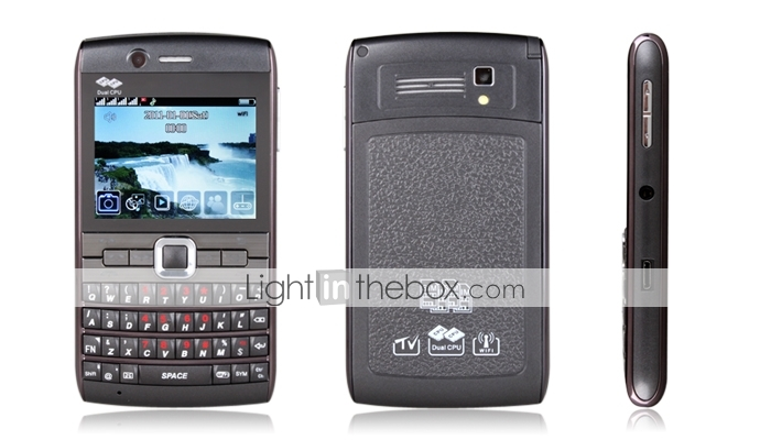 G99 - Four SIM 2.3 Inch QWERTY Keyboard Cell Phone (WIFI, TV, Bluetooth)
