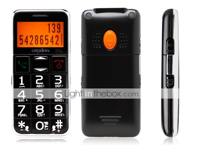 Senior Citizen - 1.8 Inch Bar Phone (FM, MP3 Player)