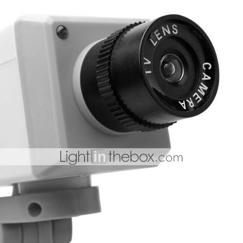 Dummy Security Camera + CCD Zoom + Motion Detection Sensor