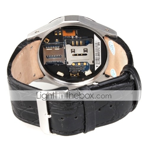 S768T - 1.5 Inch Watch Cell Phone (FM, Bluetooth, MP3/Mp4 Player)
