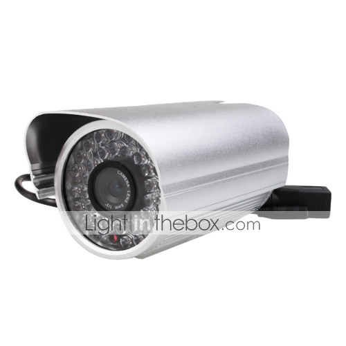 Wireless Waterproof IP Camera with 8mm Lens and IR Cut-Off Filter