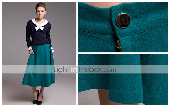 TS Retro Wool Knit Skirt (More Colors)