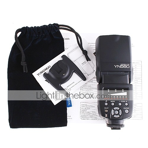 yn-560 flash Speedlite de la luz