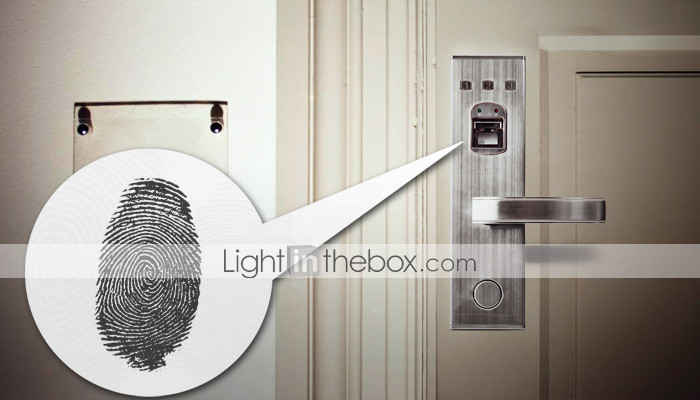 Universal Biometric Fingerprint Door Lock with Deadbolt