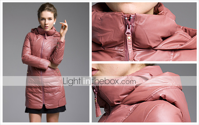 TS Quilted Ribbed Puffer Parka (3 Colors)