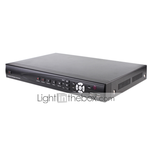 4 Channel D1 DVR H.264 Compression with Video and Audio Recording