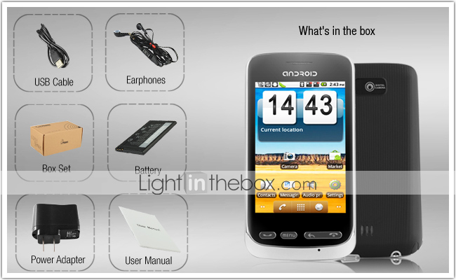 Neo 2 - Android 2.2 Smartphone with 3.2 Inch Capacitive Touchscreen (Dual SIM, TV, WiFi)
