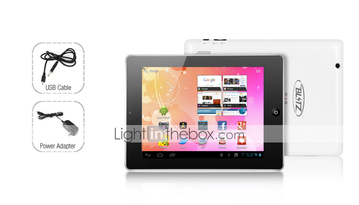 arconte 2-8 pollici capacative Android 4,0 tablet (1GHz, 512MB RAM, HDMI out)