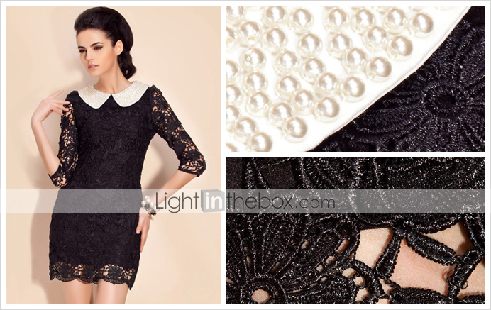 ts perle forsknnet lace dress (flere farver)