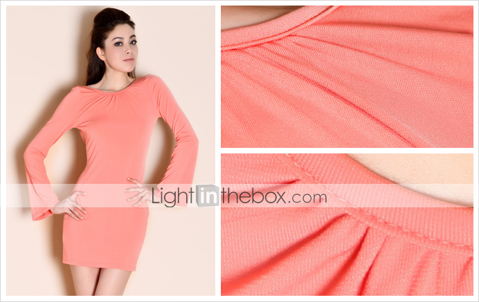 TS Open Back Slim Jersey Dress (More Colors)