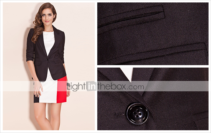 TS Pleated Sleeve Blazer (More Colors)
