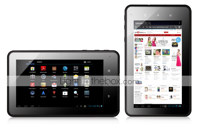 cherry - 7 inch Android 4.0 tablet capacative (1,2 GHz, 512 MB RAM, hdmi)