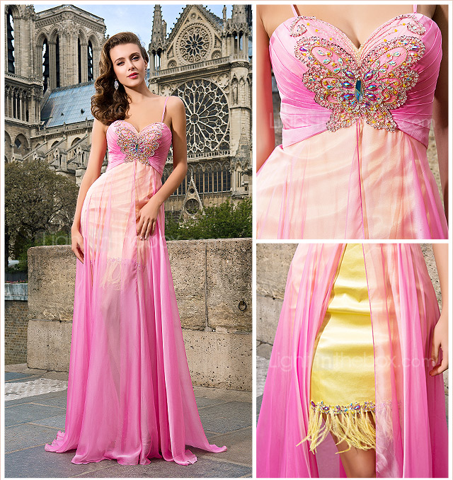 LOVISA - Robe de Soire Mousseline