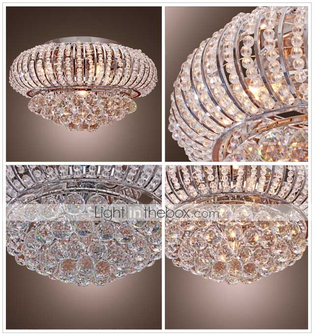 Lmpara Chandelier de Cristal con 5 Bombillas - NAPIER