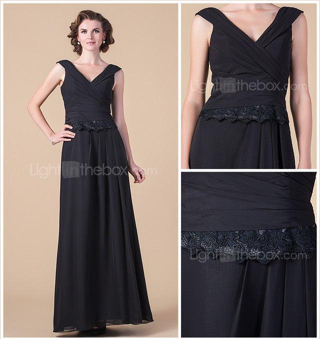 NADESCHA - Kleid fr die Brautmutter aus Chiffon