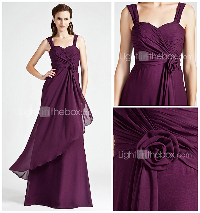 WALLY - Kleid fr Brautjungfer aus Chiffon
