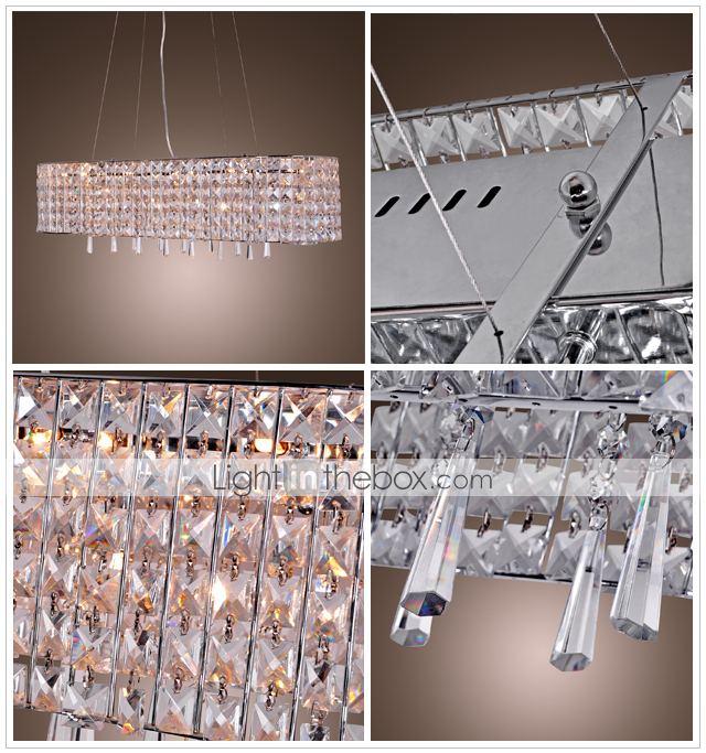 Luxuriant Crystal Pendant Light with 16 Lights