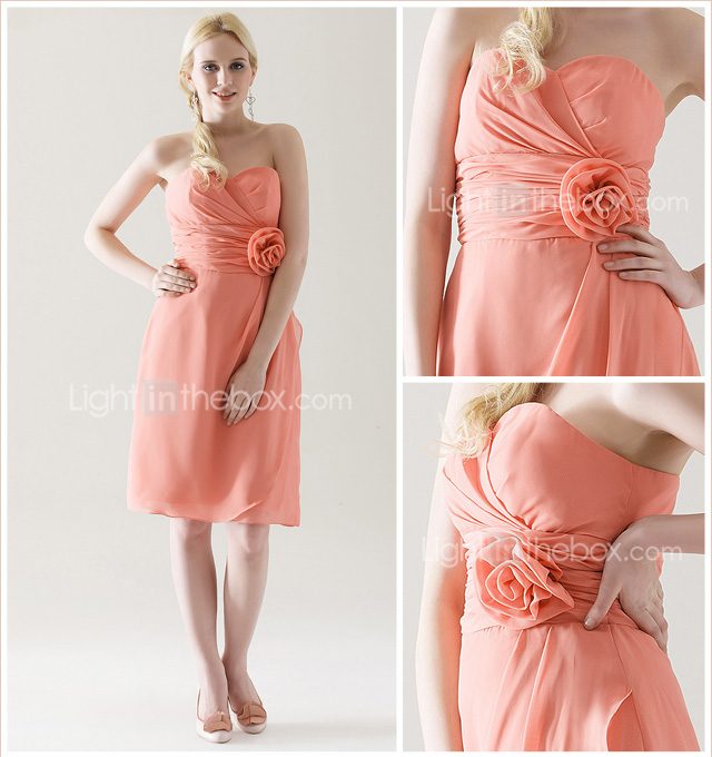 CHRISTINE - Kleid fr Brautjungfer aus Chiffon