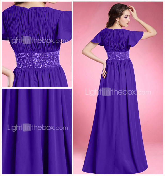JOVANKA - Kleid fr die Brautmutter aus Chiffon und Satin