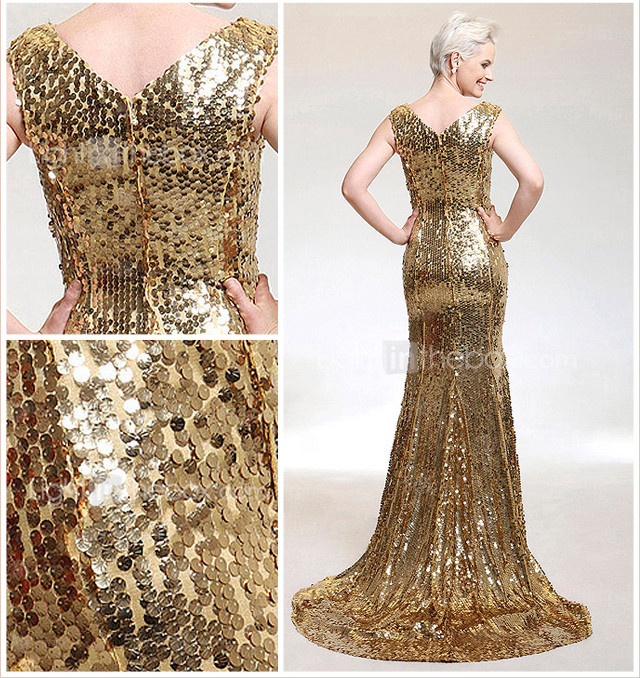 ZAHIRAH - Robe de Soire  Sequins