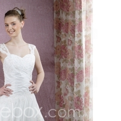 Pretty Princess Sweetheart Chapel Train Taffeta Lace Wedding Dresses for Bride (HSX143) - US$ 199.99