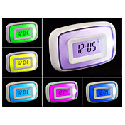 Voice Activated Colorful Backlight Digital Alarm Clock