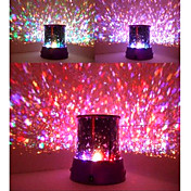 Star Beauty Starry Sky Projector Night Light (3xAA, Random Color)