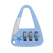 Cute Bag-Sharped Combination Padlock (Blue)