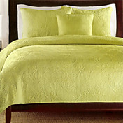 Veena 3pc Quilt set (green)