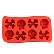 Cross Bones Shaped Ice Mold
