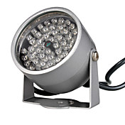 Infrared Illumination Light with 48 IR LEDs for Night Vision CCTV Camera (DC 12V, 500mA)