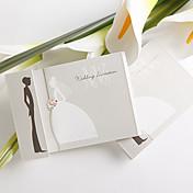простой дизайн невесты и жениха, свадебные приглашения (набор из 50)
