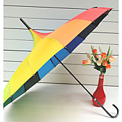 Rainbow Long Handle Umbrella