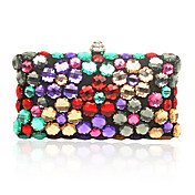 Shinny Colorful Crystal Evening Bag