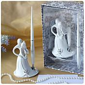 Жених и невеста дизайн свадебного перо набор в белой смолы