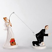 Fishing With Love Cake Toppers