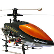 Double Horse 9100 3 Channel Single-rotor RC Helicopter with Radio Control (RC) Helicopters Toy