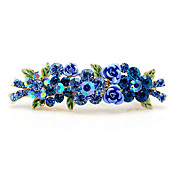 Gorgeous Alloy With Rhinestones Wedding Barrette